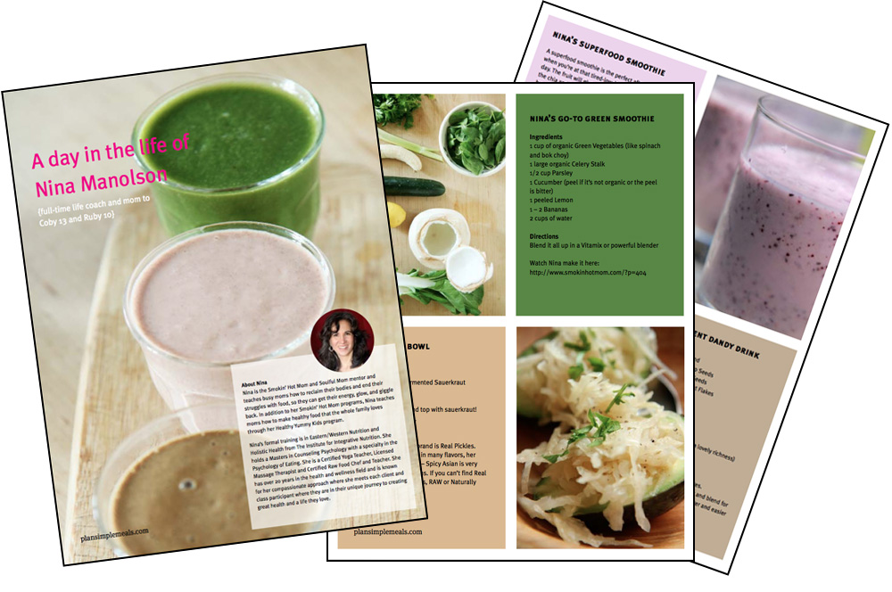A day in the life of nina manolson qa plan simple meals nina pdf image forumfinder Images
