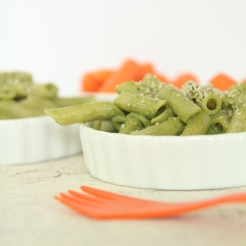 Glutten-Free Pesto Pasta