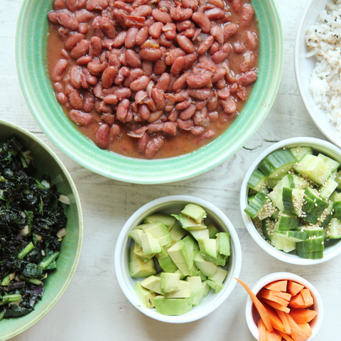 New Orleans Red Beans (Vegan)