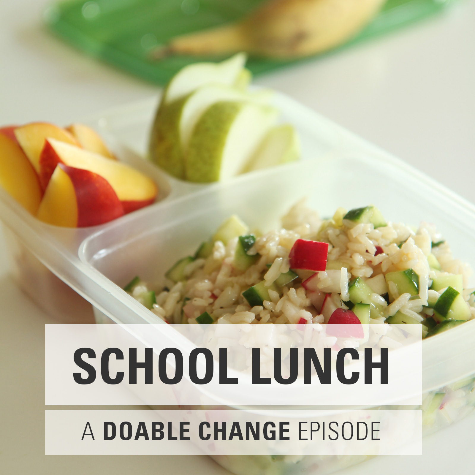 Doable Change: Packing Healthy School Lunches