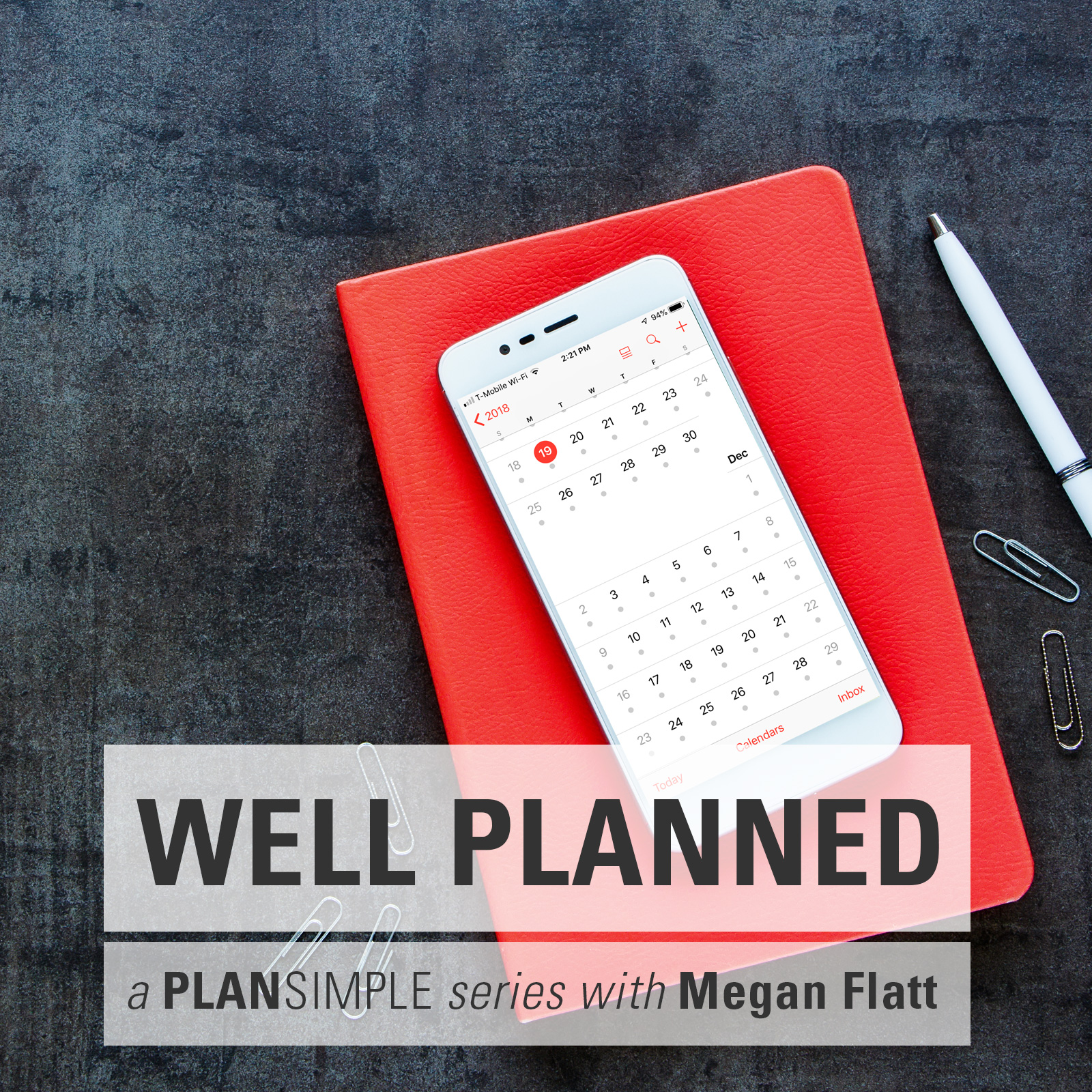 Sticking To Your Weekly Workflow On The Well Planned Series With Megan Flatt