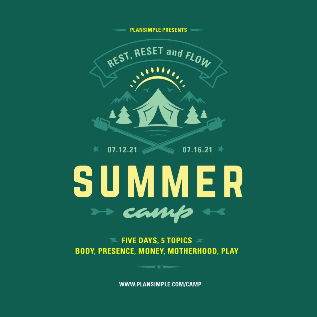 Camp for Moms Mia Moran